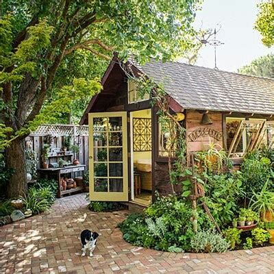 backyard cottage backyard cottage garden cottages pinterest