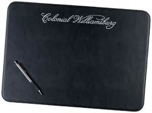 Leather Placemats For Conference Table Exec U Line Placemat Promotional Exec U Line Placemat Leather Accessories 14 79 Ea