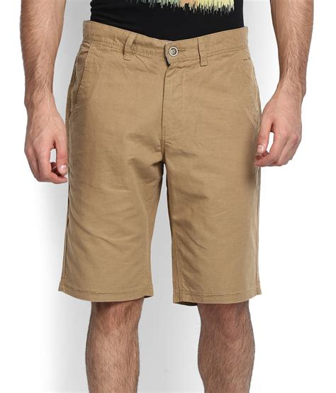 United Colors Benetton Bag Khaki united colors of benetton khaki shorts snapdeal price shorts 3 4ths deals at snapdeal united