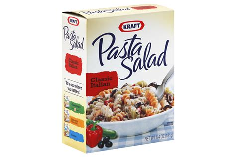 pasta salad box boxed pasta salad