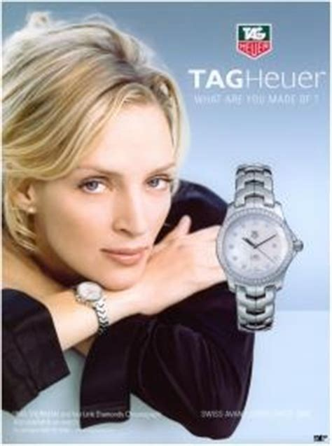 Uma Thurman And Tag Heuer Exclusivity Style And Success by 78 Best Images About Ads With For Tag Heuer