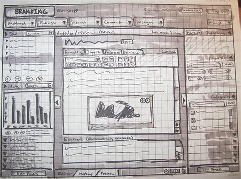 magazine layout wireframe getting wild with wireframes