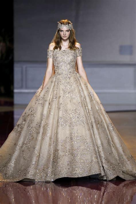 Fashion Week Fall 07 Where Was The In Roi Second City Style Fashion by Zuhair Murad At Fashion Week Haute Couture Fall