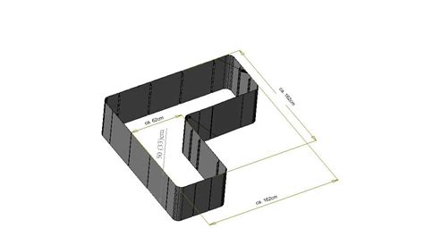 hochbeet in l form garten im quadrat hochbeet in l form quot corner 163