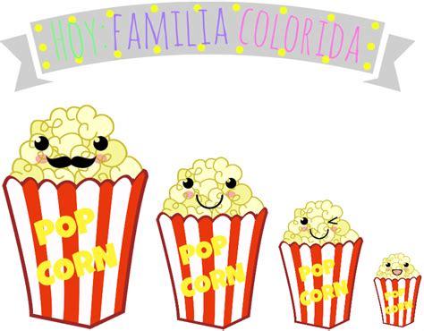 color popcorn popcorn de color miicakes