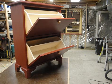 Shoe Cabinet   by Luis M @ LumberJocks.com ~ woodworking