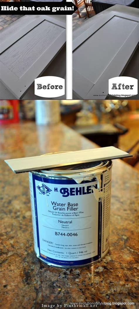 painting oak cabinets grain filler best 25 painting cabinets ideas on pinterest oak
