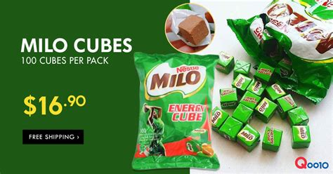 Milo Energy Cube 10 Pcs Snack Milo Bestseller nestle milo energy cubes are going at a deal at qoo10 from 12 apr 2017