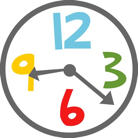 a picture of a clock