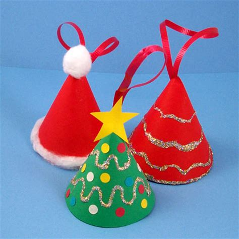 how to make christmas hats how to make a miniature tree ornament crafts s crafts
