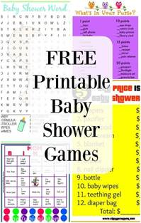 free printable baby shower games 183 the typical mom