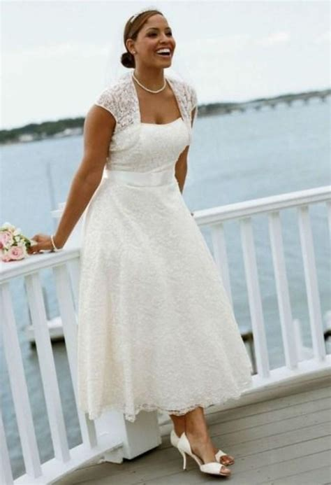 Plus Size Informal Wedding Dresses by Plus Size Informal Wedding Dresses With Sleeves Pluslook