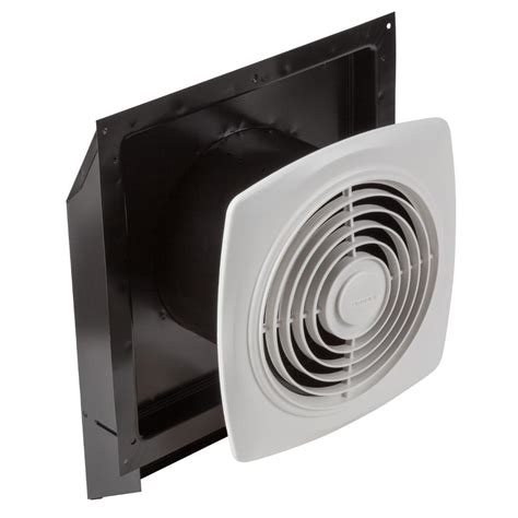 wall exhaust ventilation fans broan 509s through wall fan with integral rotary switch 8
