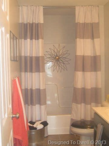 best 25 striped shower curtains ideas on grey