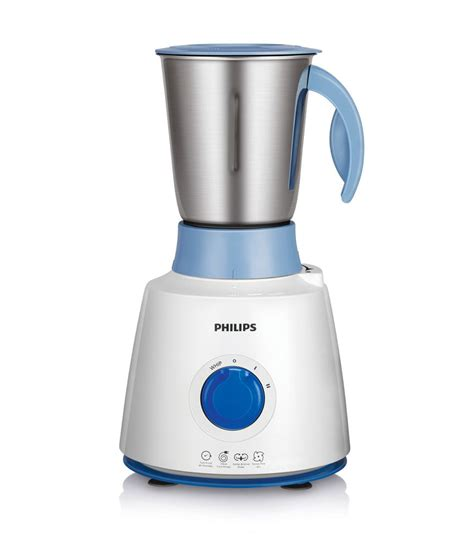 Mixer Philips philips 3 jar hl7610 04 500 mixer grinder white and blue