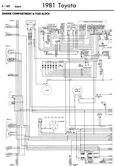 Toyota Supra 1981 Wiring Diagrams   Online Manual Sharing