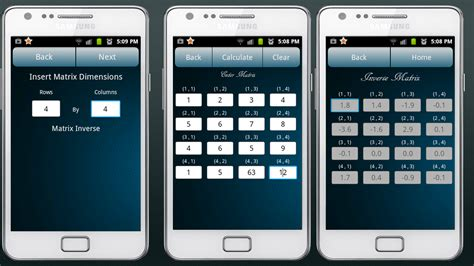 calculator matrix matrix calculator android apps on google play