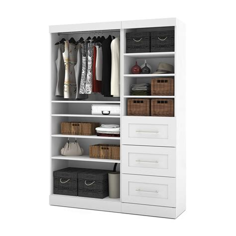 Closet Organizers Lowes Kits by Bestar 26870 Pur By Bestar 61 In Classic Kit Lowe S Canada