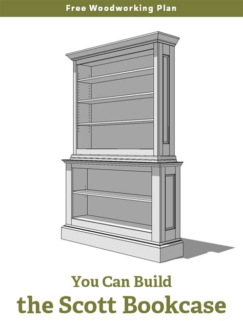 bookshelf woodworking plans free woodworking plan a large painted bookcase jeff