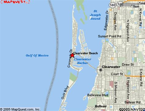 map of clearwater florida clearwater florida map my