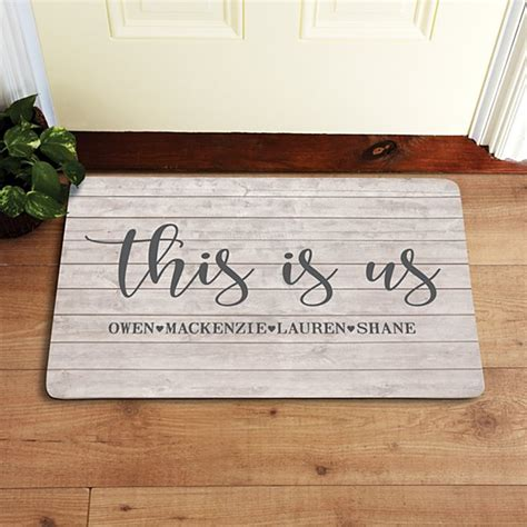 Doormats Personalized - personalized doormats welcome mats personal creations