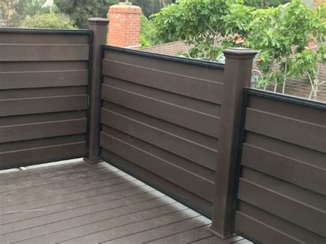 trex fencing  privacy railing trex composite fencing
