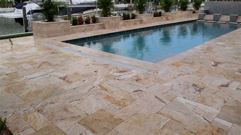 installing french pattern travertine tiles leonardo travertine pavers sefa stone