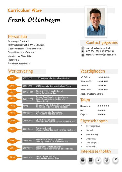 Voorbeeld Een Cv En Motivatiebrief Op 1 A4 Voor Een mijn cv een overzicht werkervaring en vaardigheden