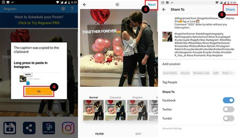 tutorial repost instagram repost without watermark on instagram with regrann app