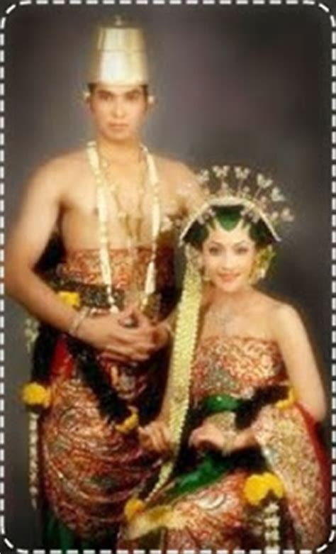 Baju Pernikahan Adat Jawa Barat baju adat jawa tengah barat timur pengantin pernikahan
