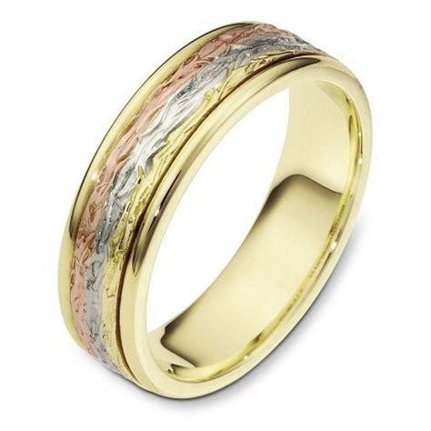 tri color wedding bands 28 images 14k tri color gold