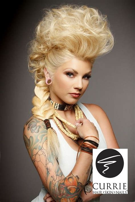 faux hawk hairstyles for women over 40 gorgeous long mohawk hairstyles for women find more www
