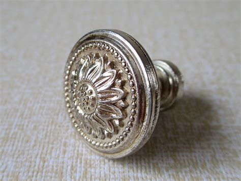 vintage silver drawer handles dresser drawer knobs pulls handles antique silver sun