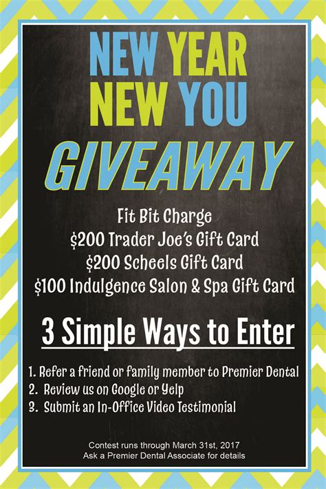 New Giveaway - new year new you giveaway