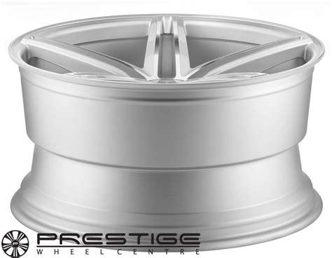 audi stockist vossen vvs cv5 silver machined alloy wheels from uk