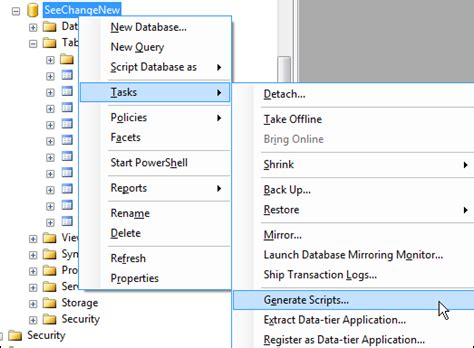 scripting out data in sql server 2008 r2 — sql chick