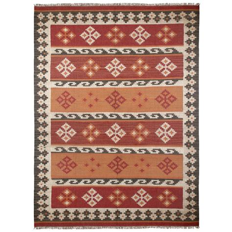 10 ft wool rug brown hacienda wool 9 ft x 12 ft area rug wfw9018 the