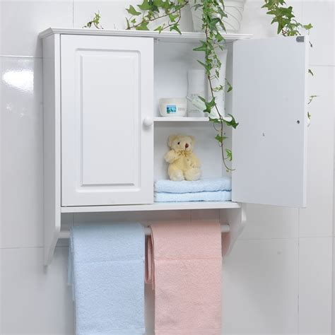 bathroom cabinet for towels cheap bathroom wall cabinet with towel bar decor