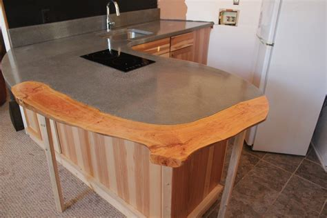 Concrete Countertops Greenville Sc by Cherry Inlay Asheville Nc Concrete Countertops
