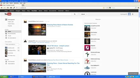 youtube layout through the years help with this strange youtube front page layout on dad s