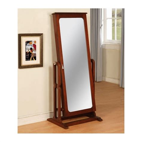 Jewellery Wardrobe With Mirror by Powell Furniture Marquis Cherry Cheval Mirror Jewelry