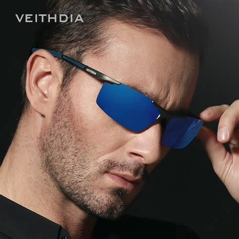 Sun Glass Mancing Model Sport glasses care picture more detailed picture about veithdia aluminum magnesium s sunglasses