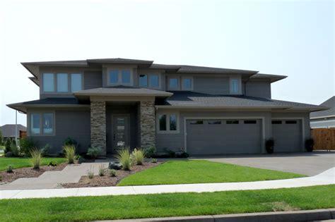modern prairie style homes with garage design ideas prairie style house plan 4 beds 3 baths 3109 sq ft plan