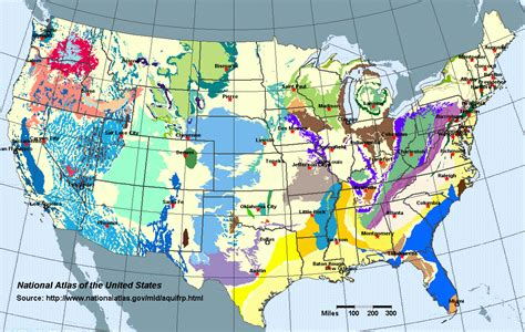 united states aquifer map water groundwater and xl the last tech age
