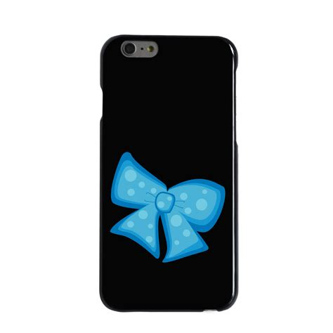 Big Black Bow For Iphone 5 5s custom cover for iphone 5 5s 6 6s plus light blue black bow ribbon ebay