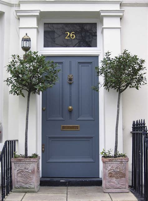 blue front doors front door ideas curb appeal paint colors home