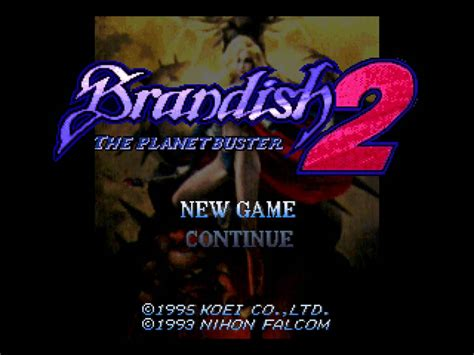Brandish For The In Your by Brandish 2 The Planet Buster Japan Rom