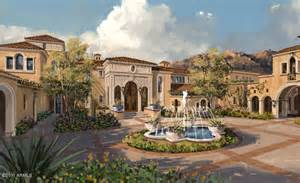 Spanish Mediterranean by Proposed Spanish Mediterranean Estate In Scottsdale Az