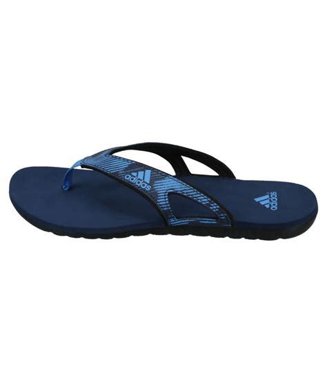 Adidas Flip Flop sold gt adidas blue flip flops tiro 15 black