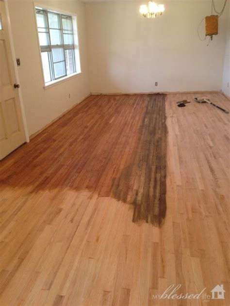 dos  donts  staining wood floors